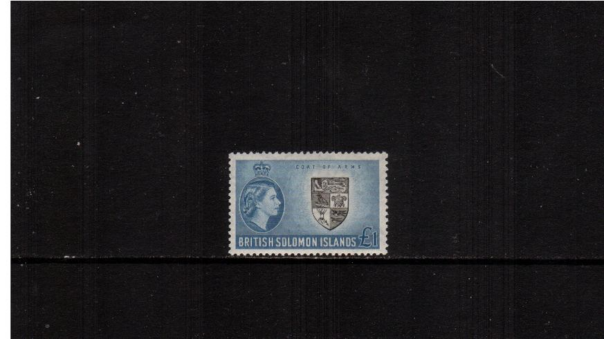 �Black and Blue. A superb unmounted mint single.<br><b>XMX</b>