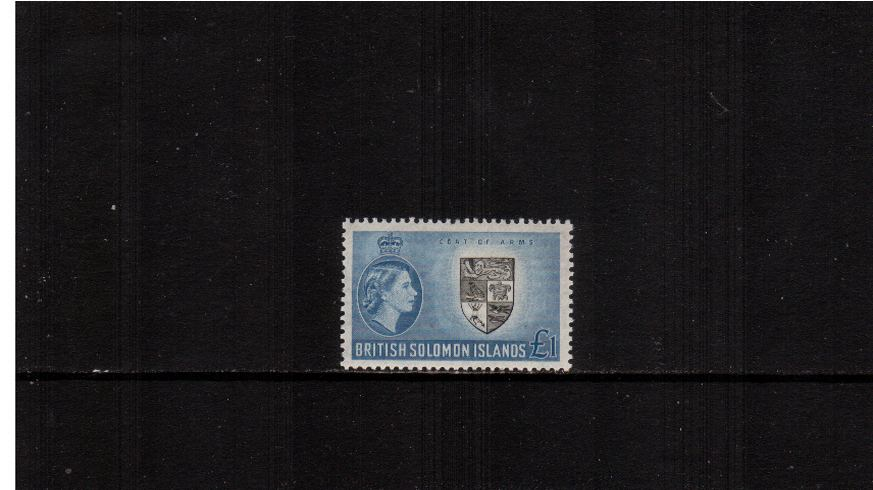 �Black and Blue. A superb very lightly mounted mint single.