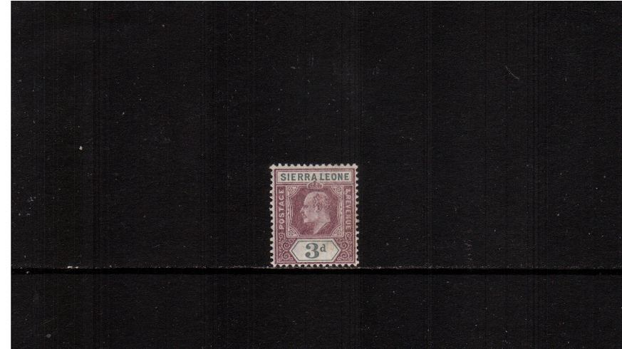 3d Dull Purple and Grey - Watermark Crown CA<br/>Lightly mounted mint.<br><b>XMX</b>