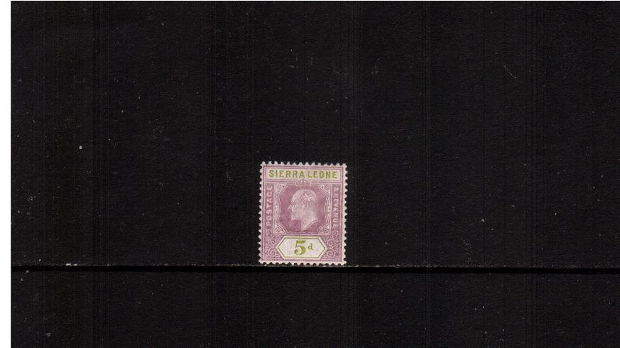 5d Purple and OLive-Green - Watermark Multiple Crown CA<br/>