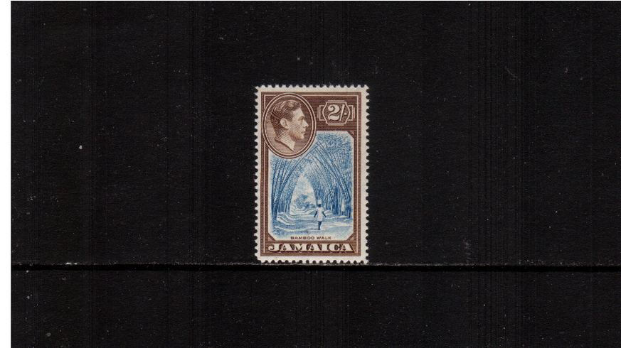 2/- Blue and Chocolate<br/>