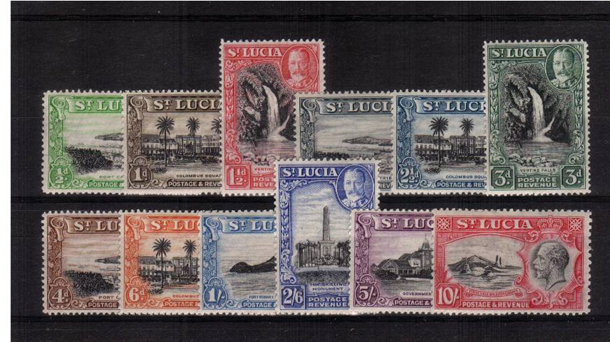 A superb unmounted mint set of twelve.<br/>Seldom seen unmounted. A gem set!