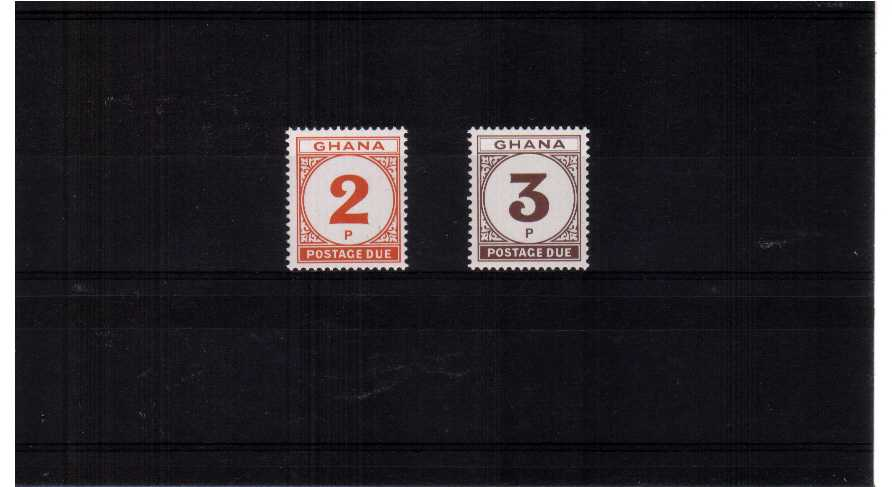 A superb unmounted mint set of two