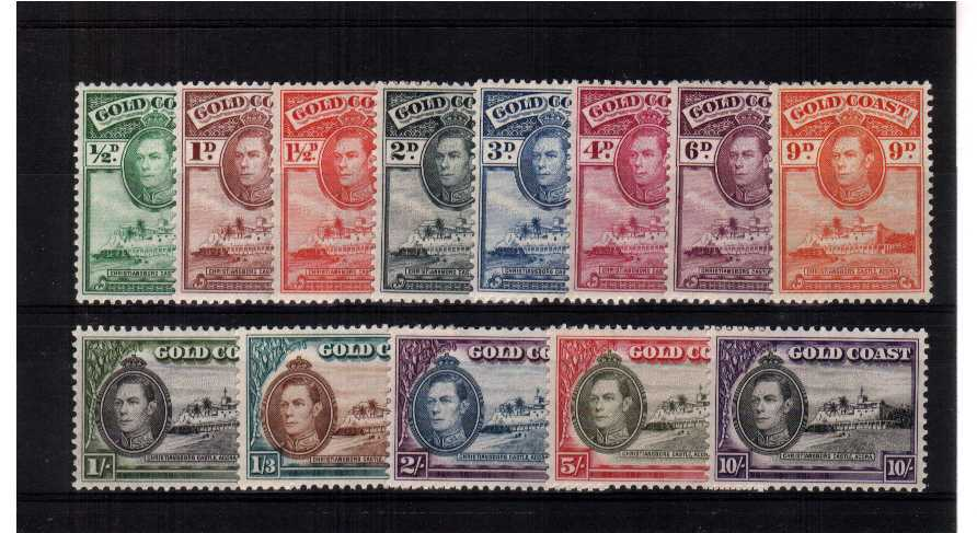 A superb unmounted mint set of thirteen.<br/><b>QGQ</b>