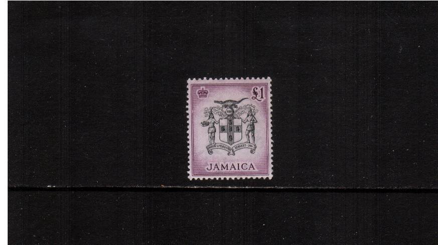 �Black and Purple.<br/>A superb unmounted mint single.