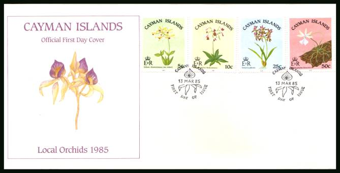 Local Orchids official First Day Cover<br/>Please note that this is priced on the value of the used stamps <br/> with no special premium because its a FDC. <br/>SG Cat for the stamps �25