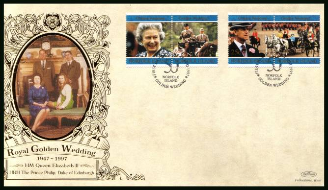 Royal Golden Wedding set of four<br/>