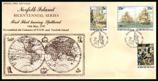 Bicentenary of Norfolk Island Settlement - 3rd Issue