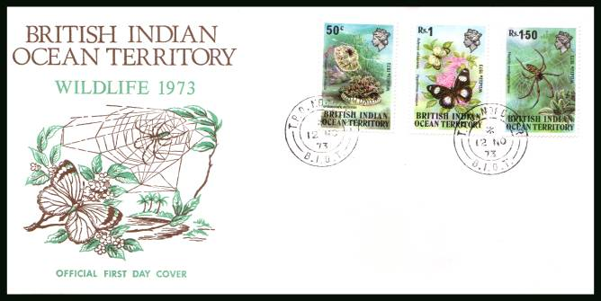 Wildlife - 1st Series<br/>cancelled with a T.P.O. NORDVAER steel CDS on an illustrated First Day Cover