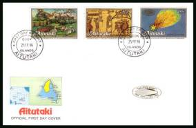 Appearence of Hallet's Comet - 2nd Issue<br/>on an illustrated unaddressed First Day Cover