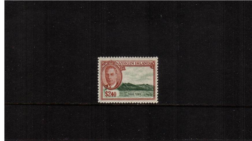 $2.40 definitive single superb unmounted mint