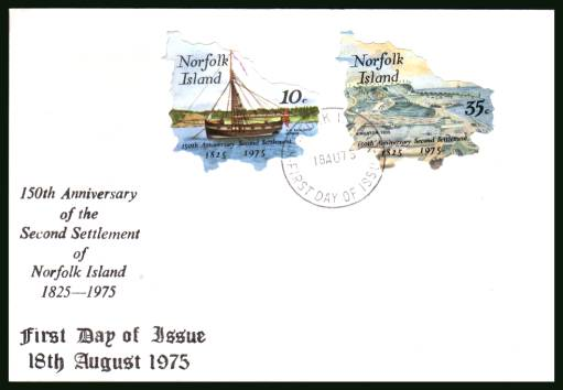 150th Anniversary of Second Settlement <br/>on an illustrated unaddressed First Day Cover