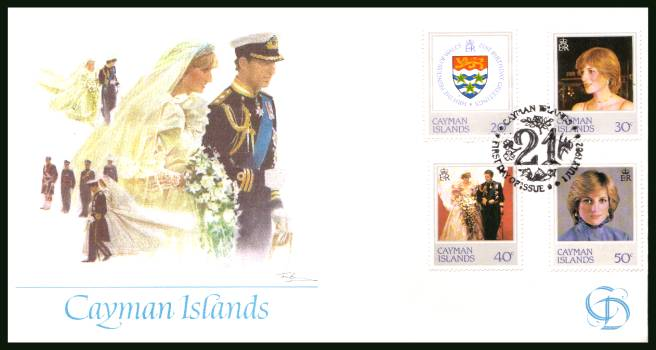 21st Birthday of Princess of Wales <br/>on an unaddessed illustrated  FLEETWOOD First Day Cover