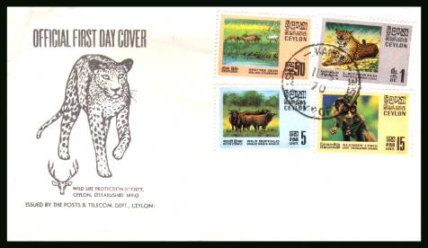 Wildlife Conservation<br/>on an unaddressed official First Day Cover