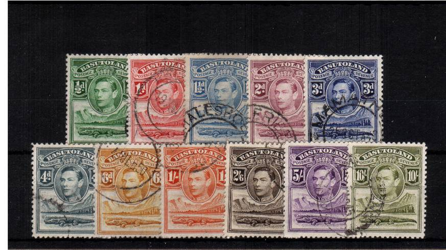 A superb fine used set of eleven