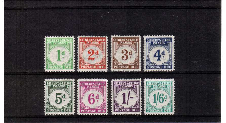 fine mounted mint set of 8