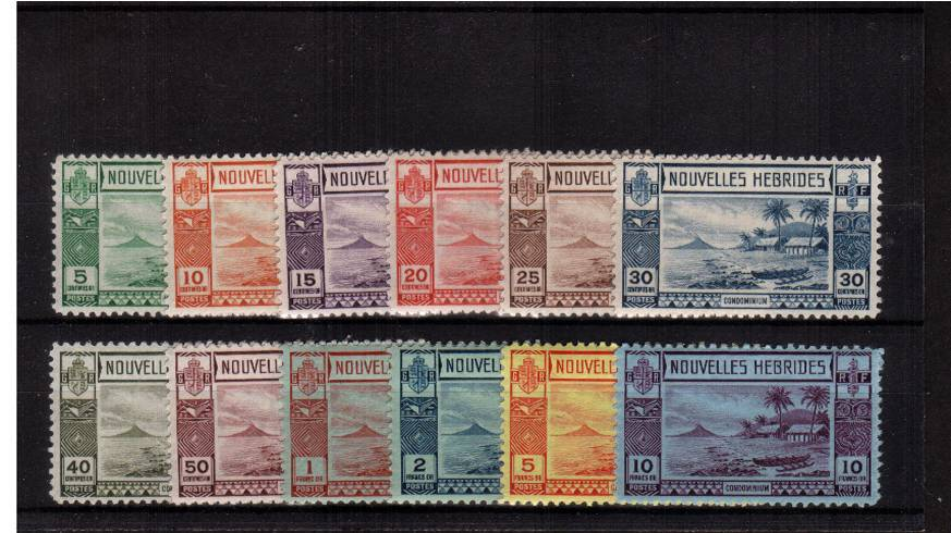 A superb unmounted mint set of twelve. Very seldom seen unmounted!