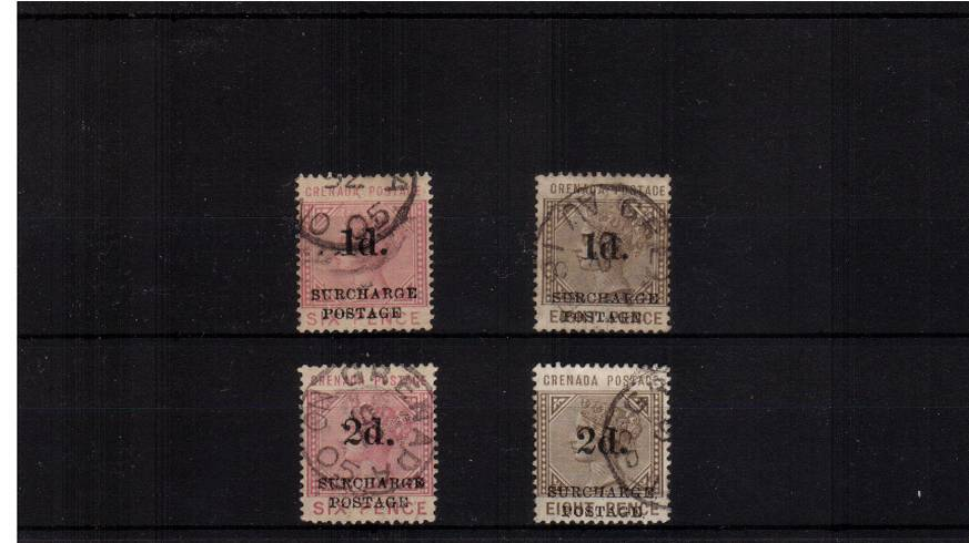 Postage Due set of four suprb fine used.