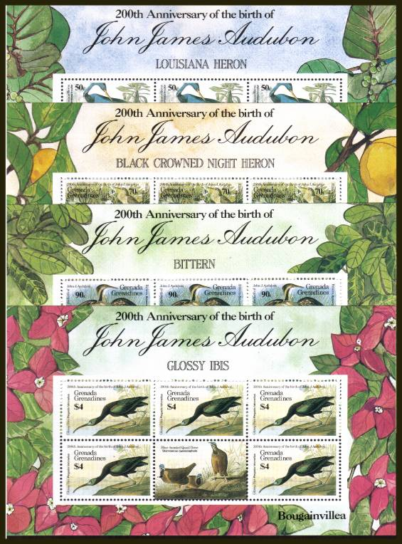 Birth Centenary of John J. Audubon - 2nd Issue<br/>