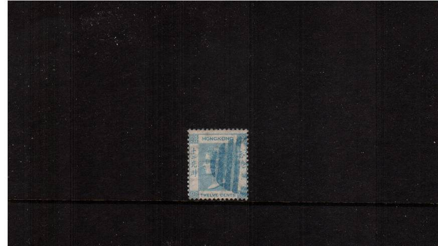 12c Pale Greenish Blue - Watermark Crown CC<br/>