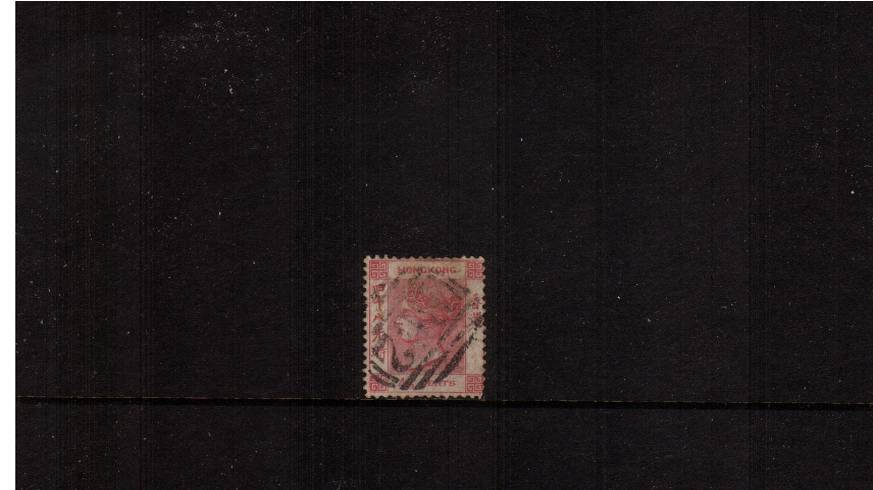 48c Rose-Carmine - Watermark Crown CC<br/>A good used single with some shortish perfs. SG Cat �