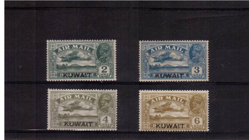 The Airmail set of four superb unmounted mint. A rare set unmounted.