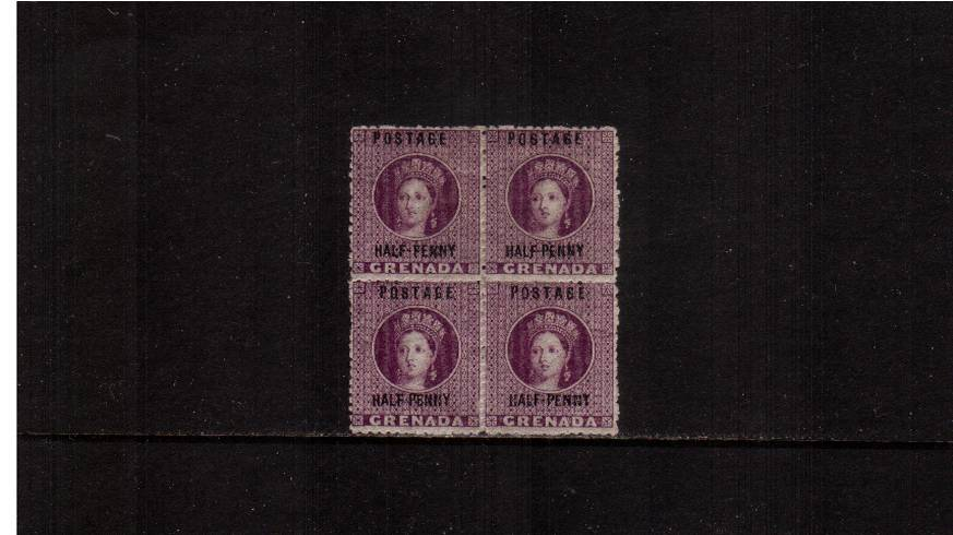 ½d Deep Mauve - Watermark Large Star Sideways<br/>