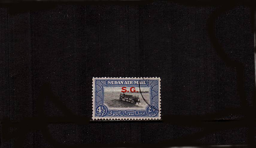 4絧 Black and Steel-Blue - AIR single.<br/>A superb fine used single. SG Cat �.00