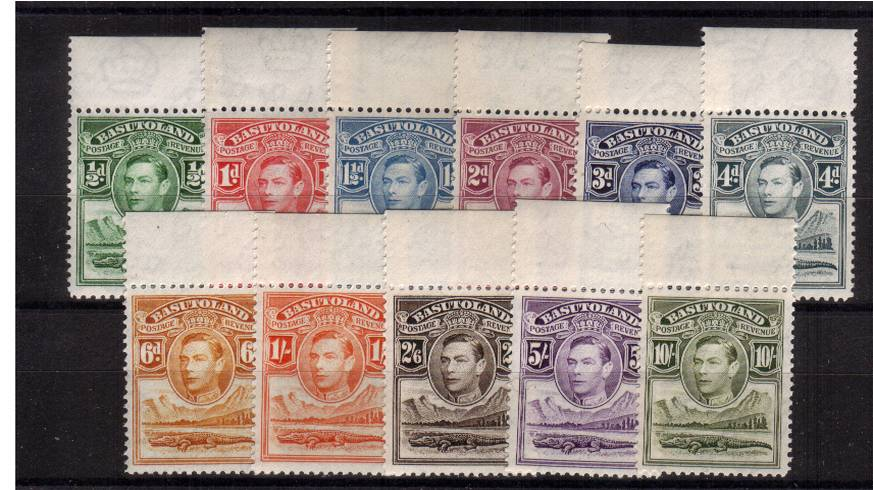 A superb unmounted mint set of eleven all top marginal examples.
