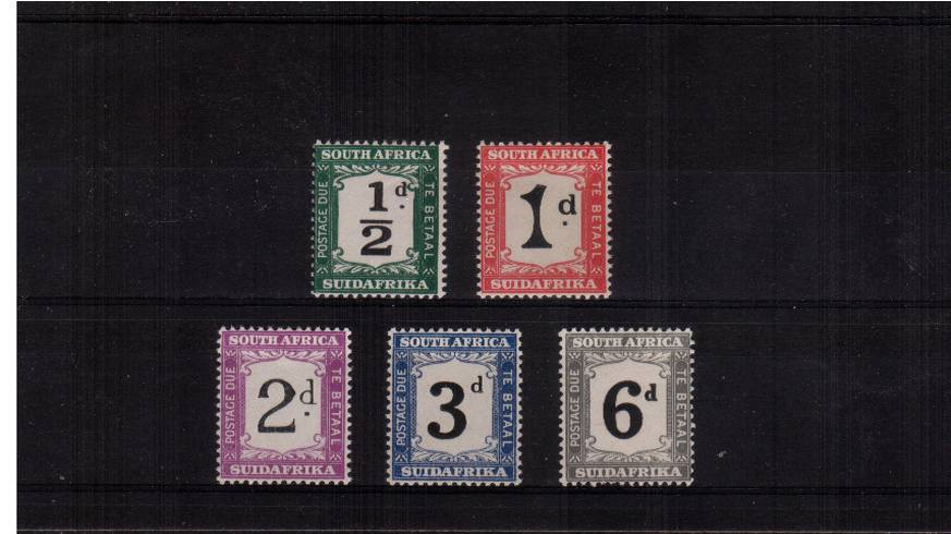 A superb unmounted mint set of five.<br/><b>QVQrc</b>
