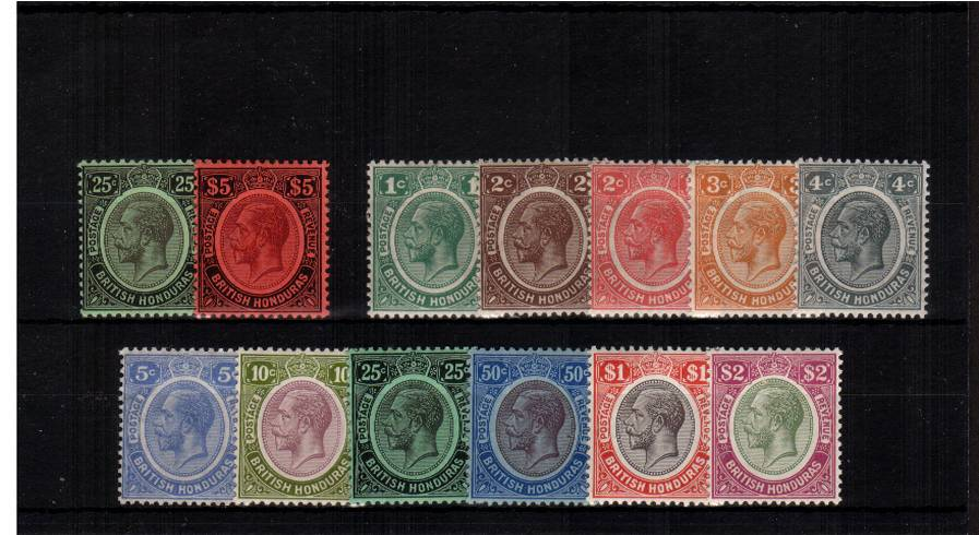 The Multiple Crown set of two plus the Multiple Script set of eleven all superb unmounted mint. A very, very rare set to find unmounted mint. A lovely bright and fresh set with vibrant colours.Stunning!