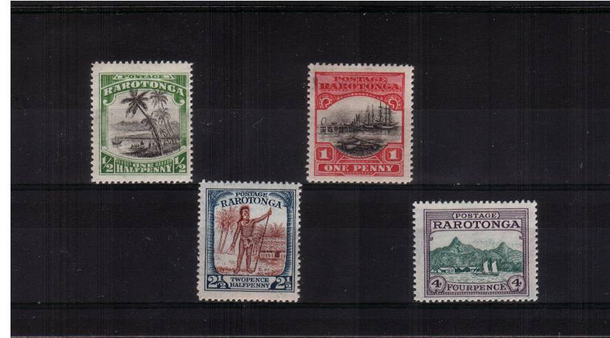 A superb unmounted mint set of four. Scarce unmounted!