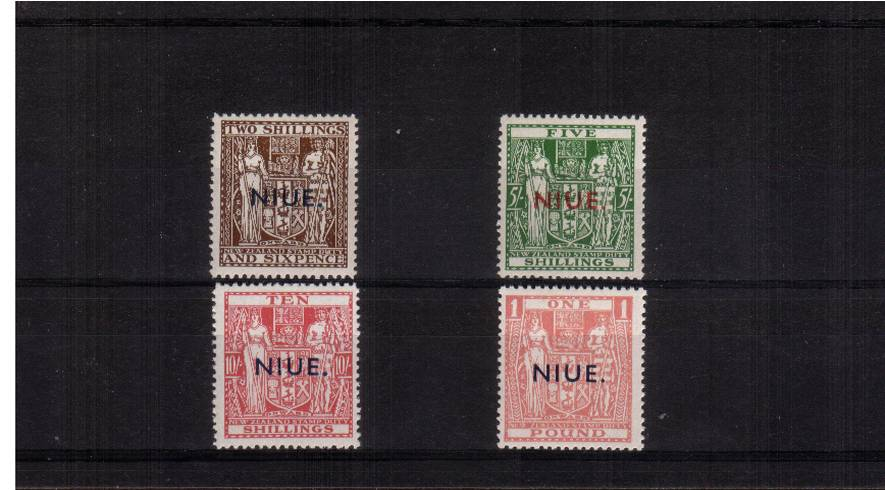 The ''High Values'' set of four  superb unmounted mint.<br/><b>QGQ</b>