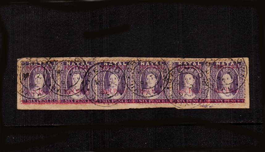1絛 on 6d Violet<br/>