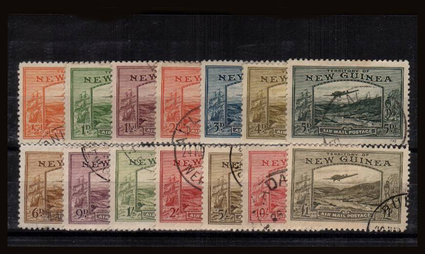 The ''Goldfields'' set of fourteen superb fine used with each stamp cancelled with a lights CDS cancels. A very pretty set! <br/>SG Cat �0