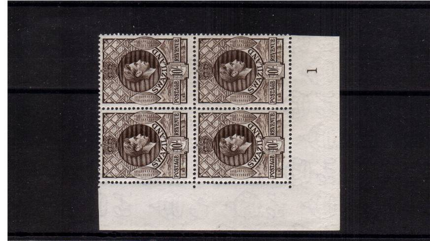10/- Sepia - Perforation 13絰14<br/>