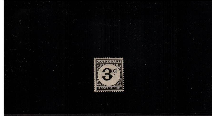 3d POSTAGE DUE single fine lightly mounted mint.