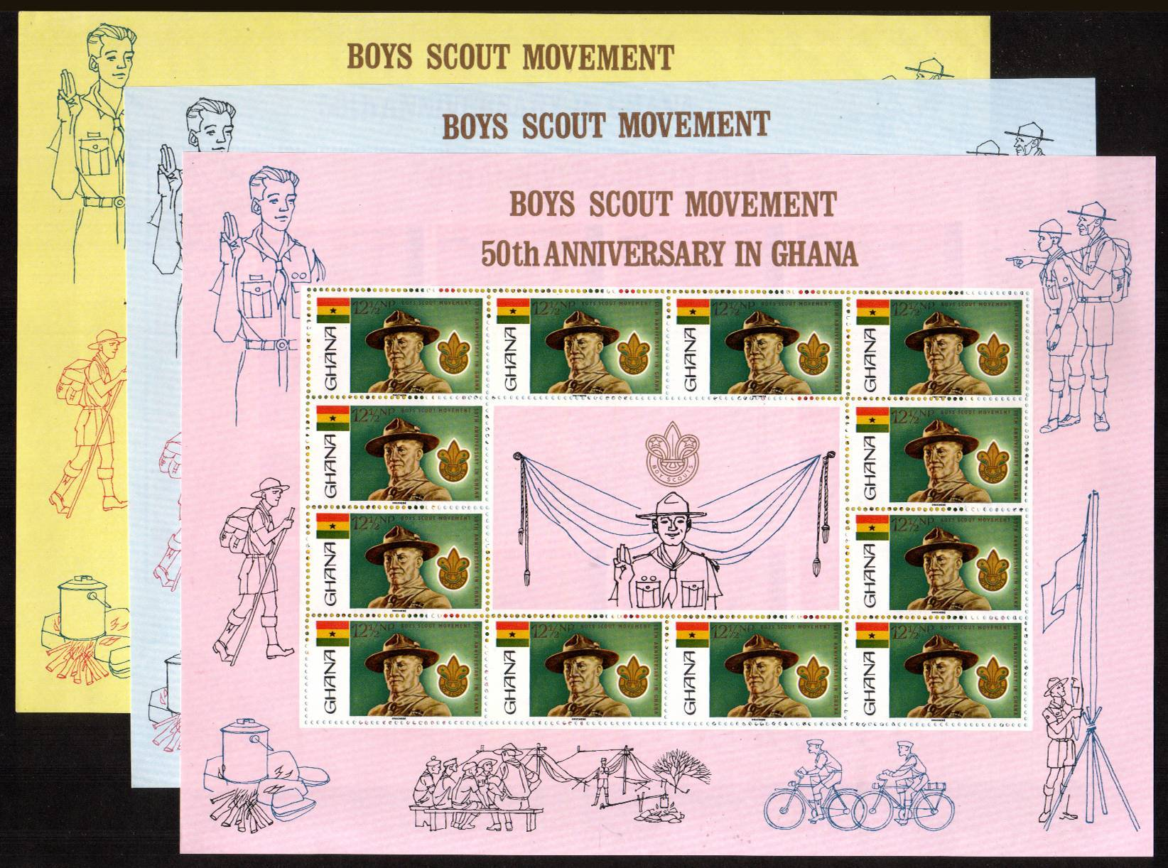 50th Anniversary of Ghanaian Scout Movement<br/>