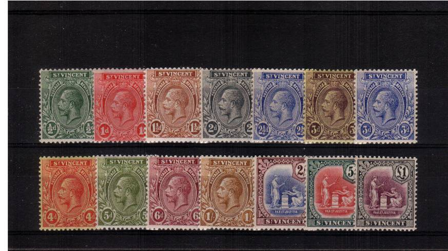 A fine very lightly mounted mint set of fourteen. A lovely bright and fresh set.  