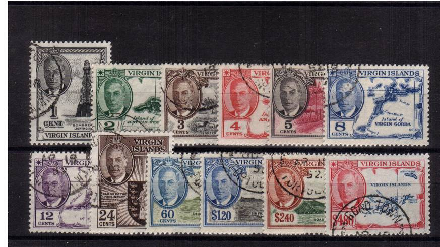 A superb fine used set of twelve