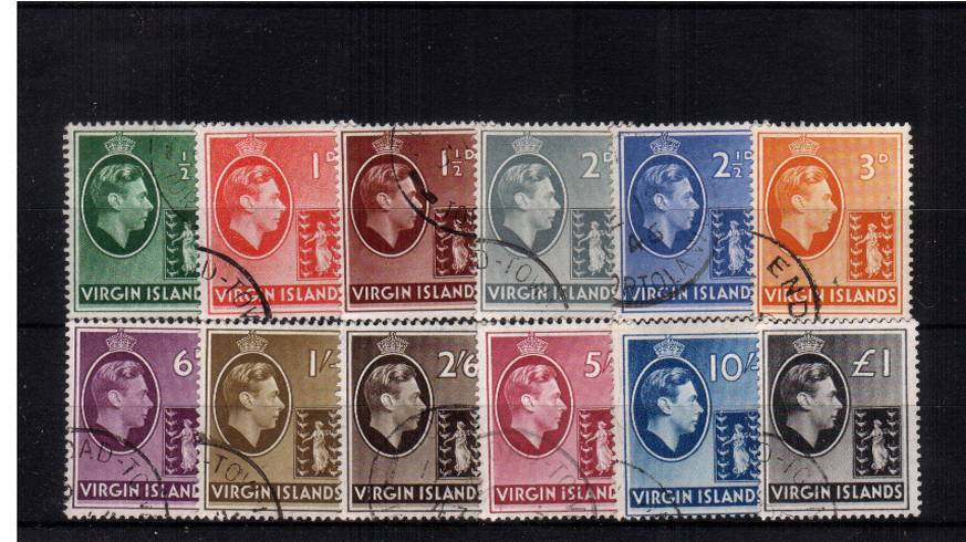 A superb fine used set of twelve.