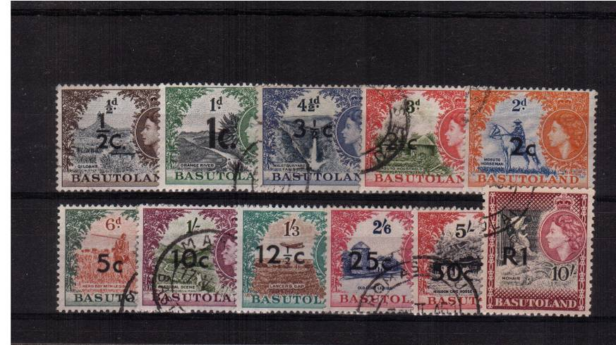A fine used set of eleven.