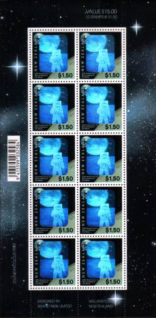 25th Anniversary of First Moon Landing<br/>