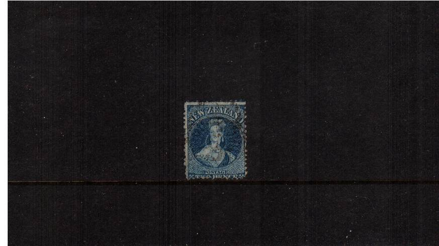 2d Deep Blue - Watermark Large Star - Perforation 12�br/>
