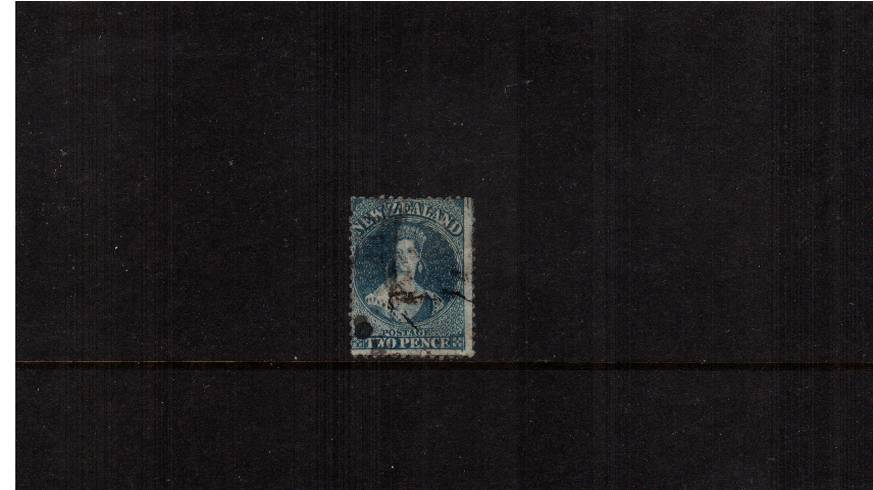 2d Blue - Watermark Large Star - Perforation 12�