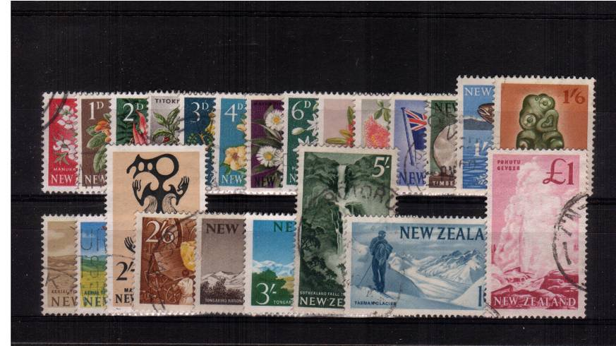 A fine used complete set of twenty three.