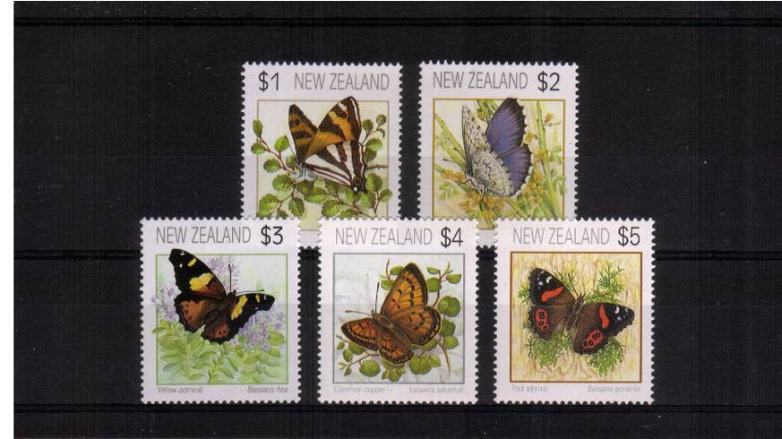 The Butterflies complete set of five<br/>