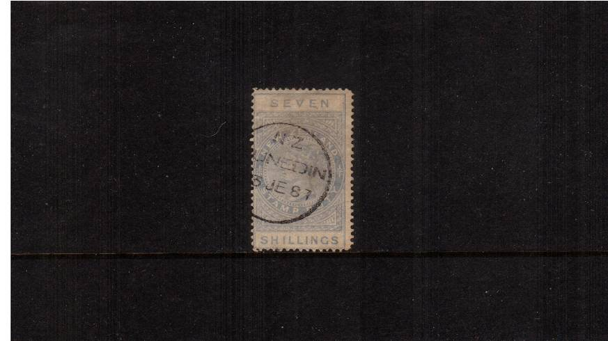 7/- Ultramarine (Pale) - Perforation 12�br/>
