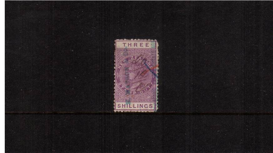 3/- Mauve - Perforation 11<br/>