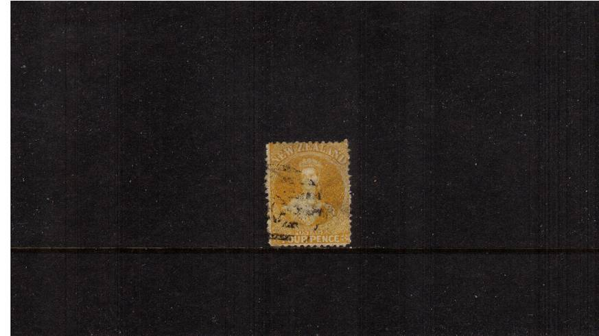 4d Yellow - Watermark Large Star - Perforation 12�br/>